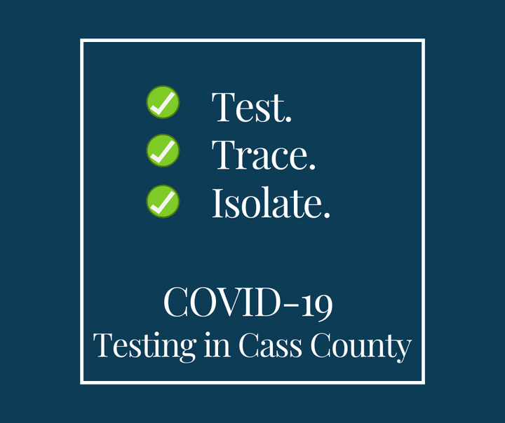 Test Trace Isolate Testing in Cass County