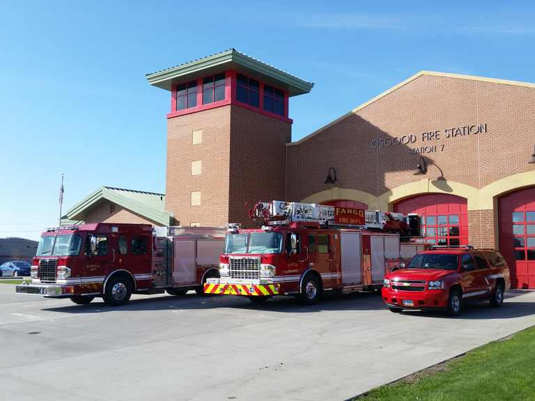 The City of Fargo - Fire Stations