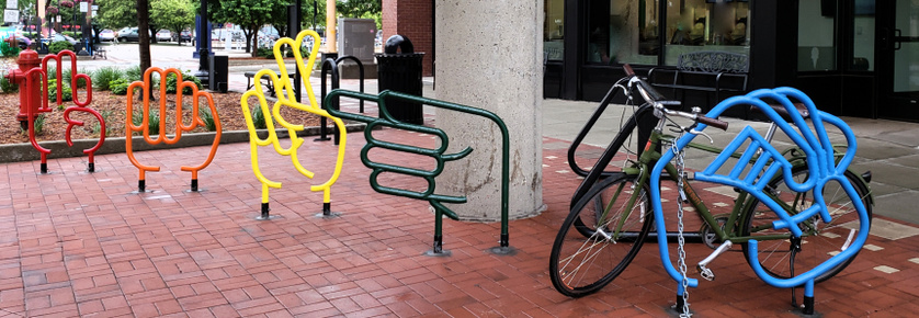 New Creative Bike Rack
