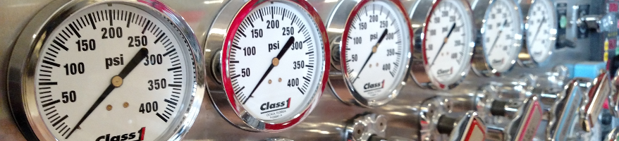 T2 Pump gauges