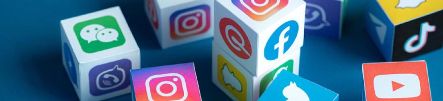 Social Media Icons Hero