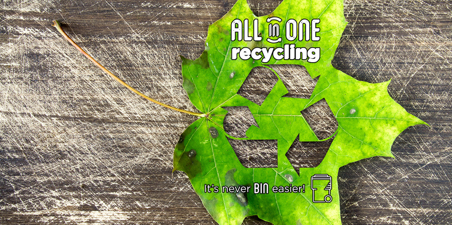 Arriving in July 2017, ALL in ONE Recycling